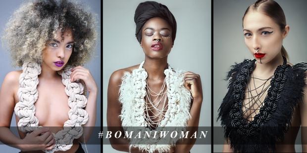 Bomani woman, elisha francis, jewellery designer